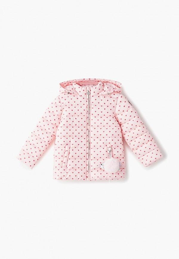 куртка choupette для девочки, розовая