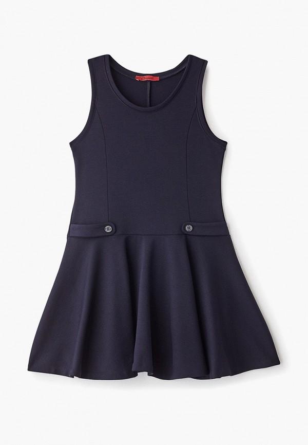 повседневные платье choupette для девочки, синее
