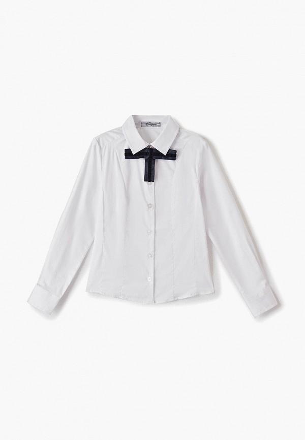 рубашка choupette для девочки, белая