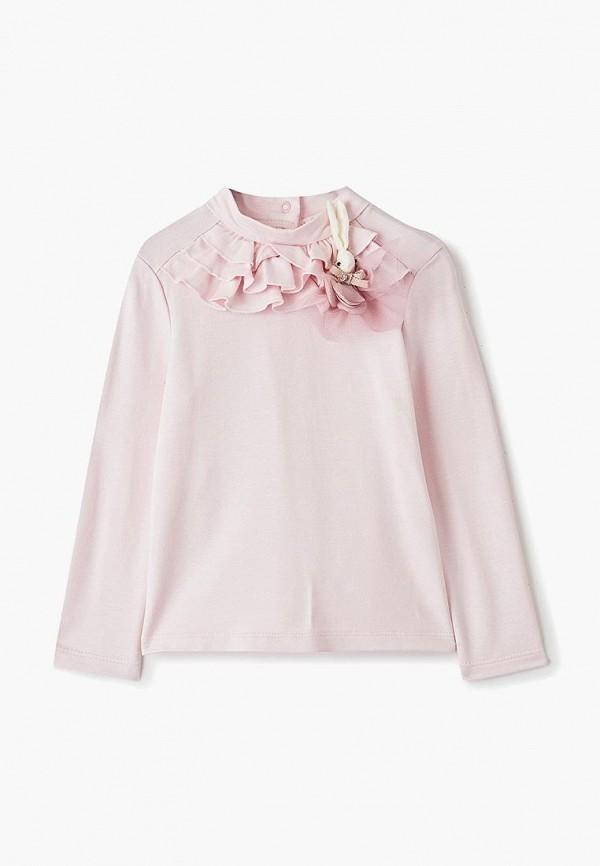 водолазка choupette для девочки, розовая