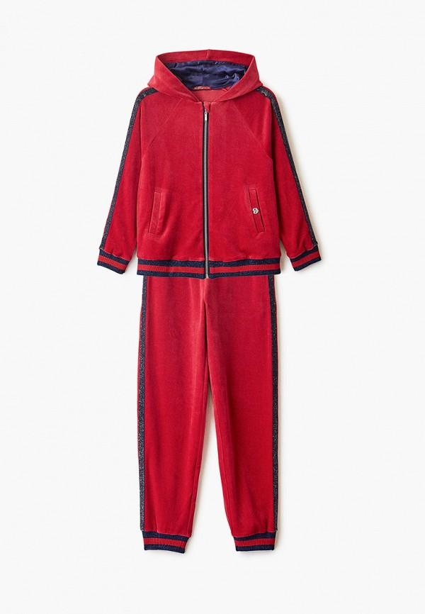 спортивный костюм choupette для девочки, красный