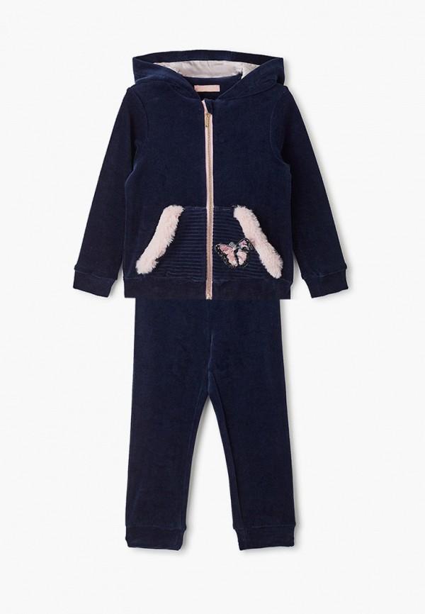 спортивные спортивный костюм choupette для девочки, синий
