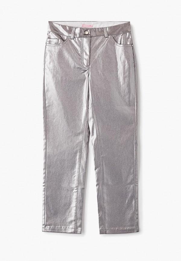 брюки choupette для девочки, серебряные