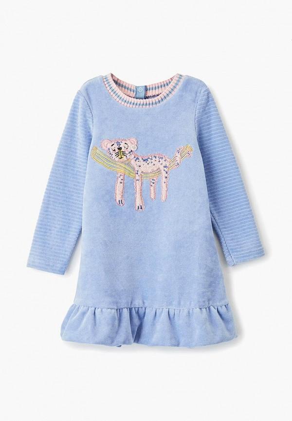 повседневные платье choupette для девочки, голубое