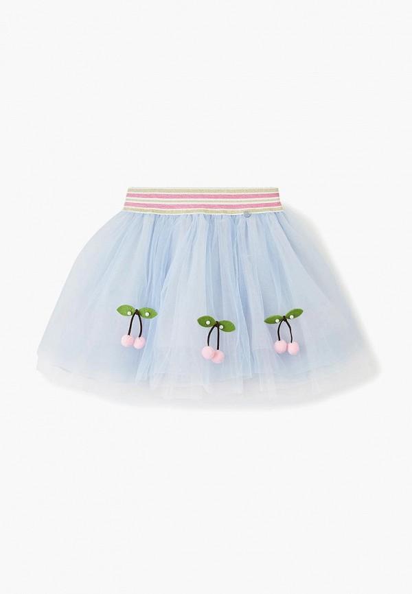 юбка choupette для девочки, бордовая