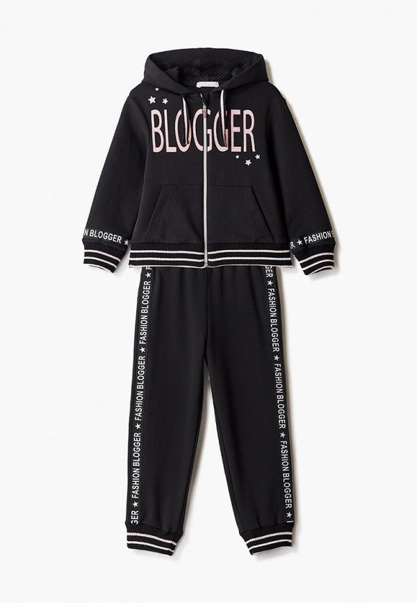 спортивный костюм choupette для девочки, черный