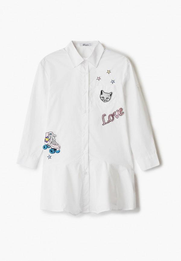 повседневные платье choupette для девочки, белое