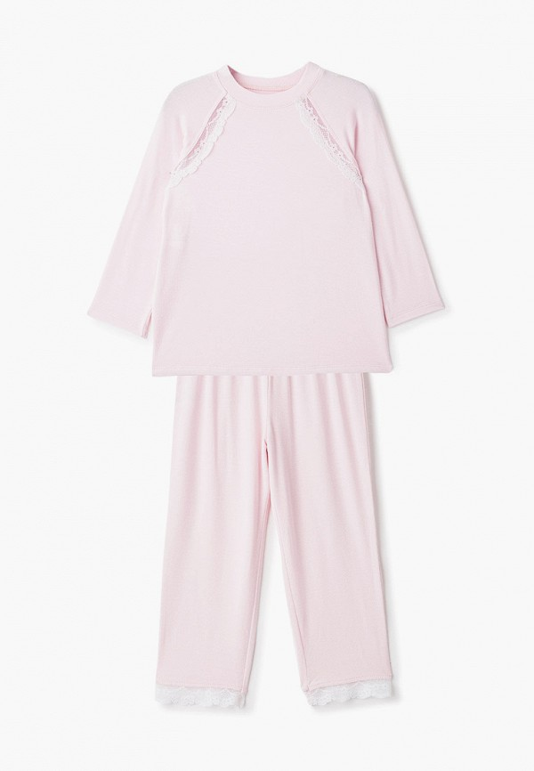 пижама choupette для девочки, розовая