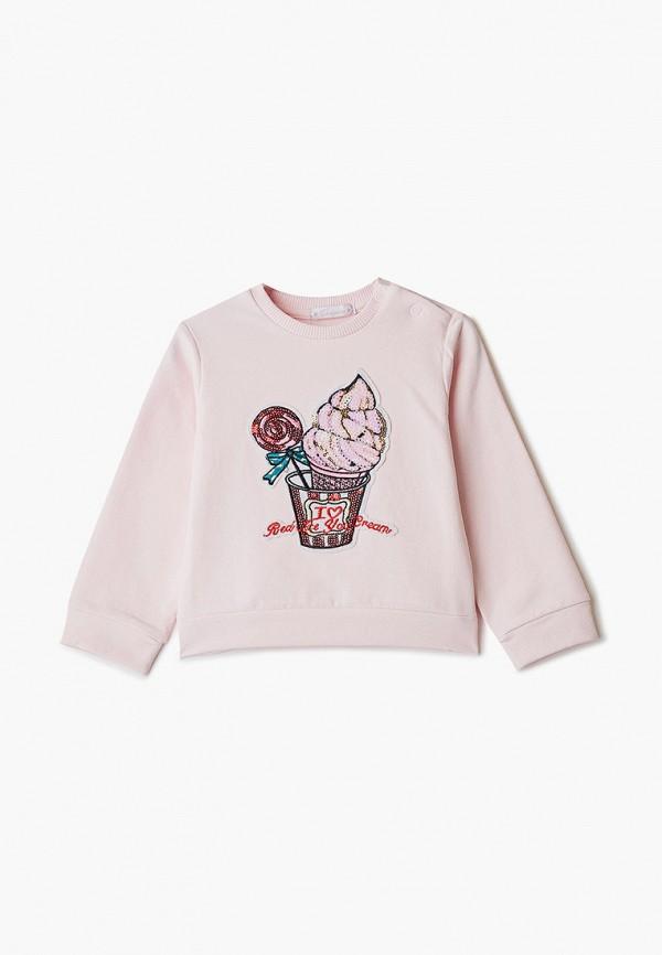 свитшот choupette для девочки, розовый
