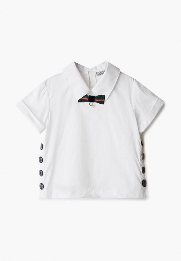 блузка choupette для девочки, белая