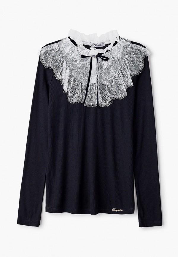блузка choupette для девочки, черная