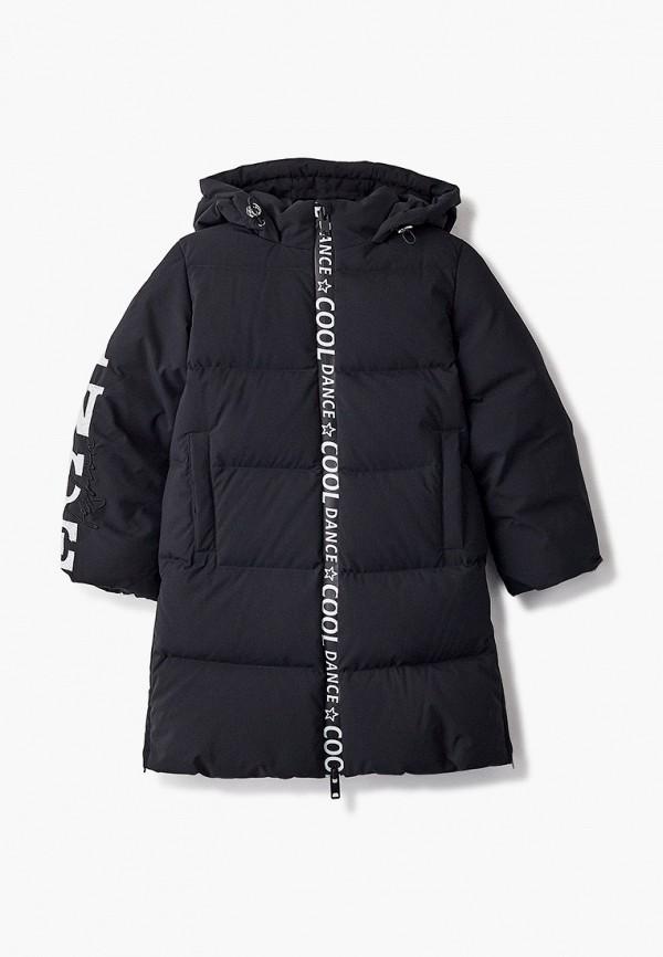 куртка choupette для девочки, черная