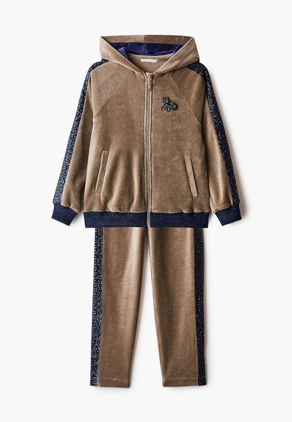спортивный костюм choupette для девочки, хаки
