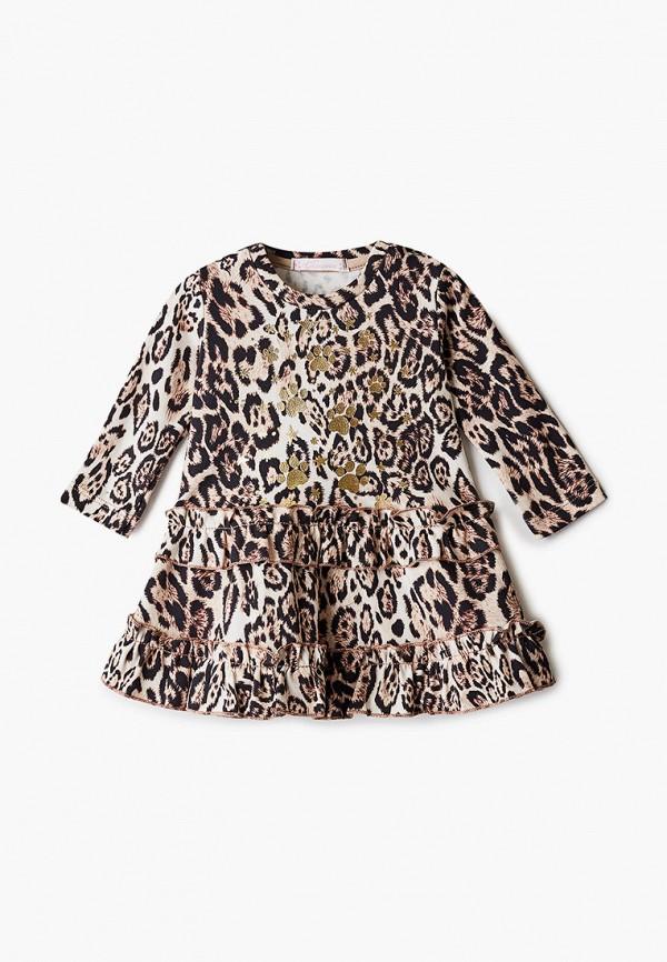 повседневные платье choupette для девочки, бежевое
