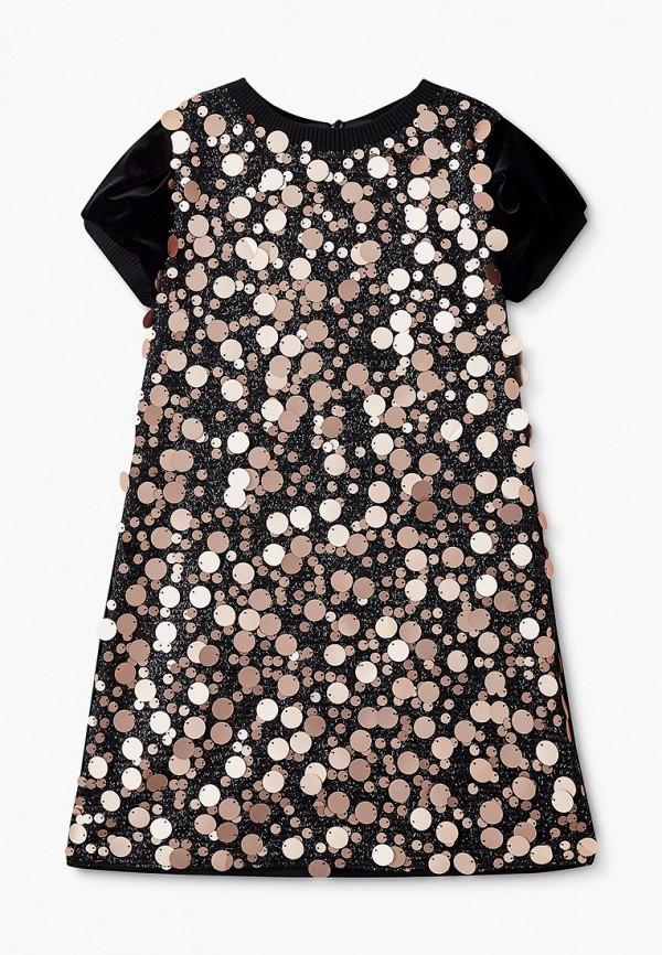платье choupette для девочки, черное