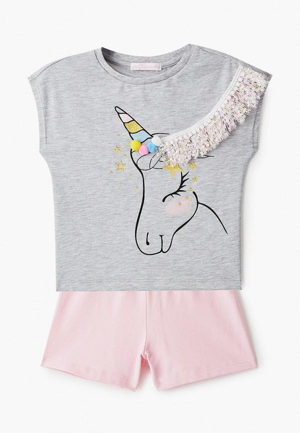 пижама choupette для девочки, разноцветная