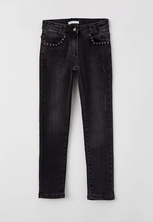 джинсы choupette для девочки, серые