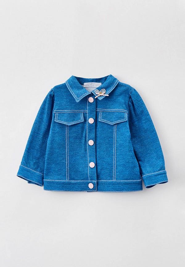 куртка choupette для девочки, голубая