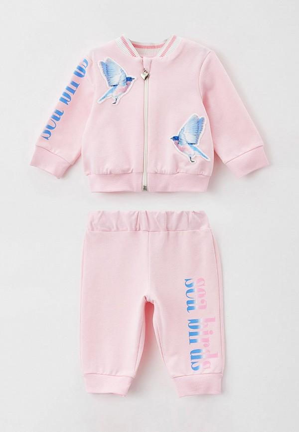 спортивный костюм choupette для девочки, розовый