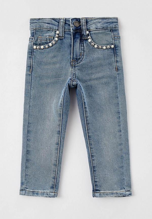 джинсы choupette для девочки, голубые