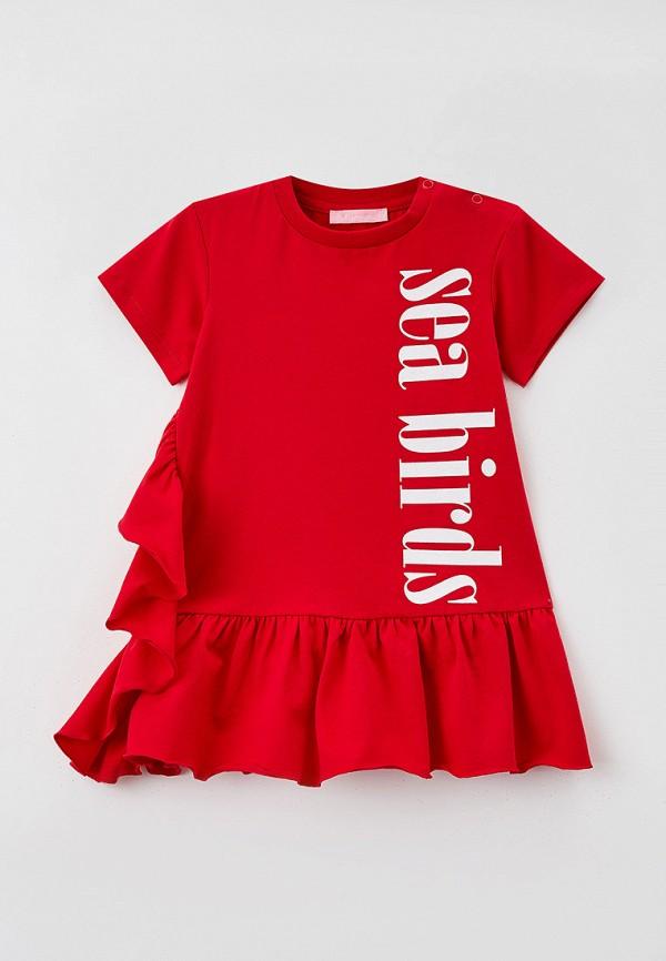 повседневные платье choupette для девочки, красное