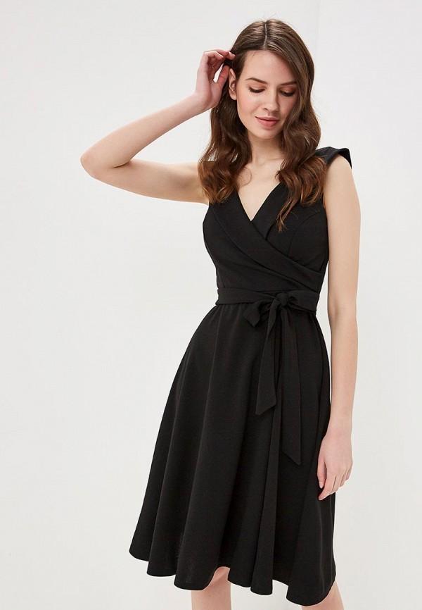 женское повседневные платье city goddess, черное
