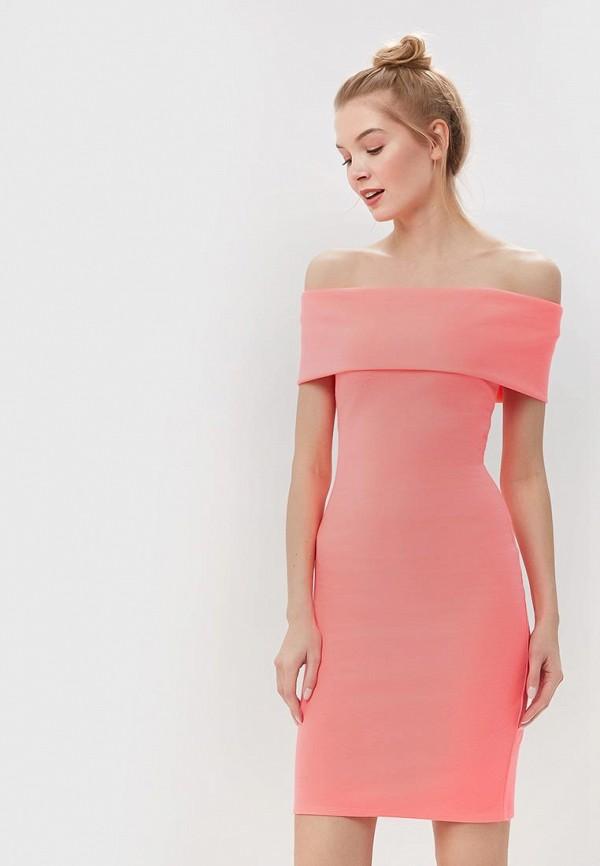 женское платье city goddess, розовое