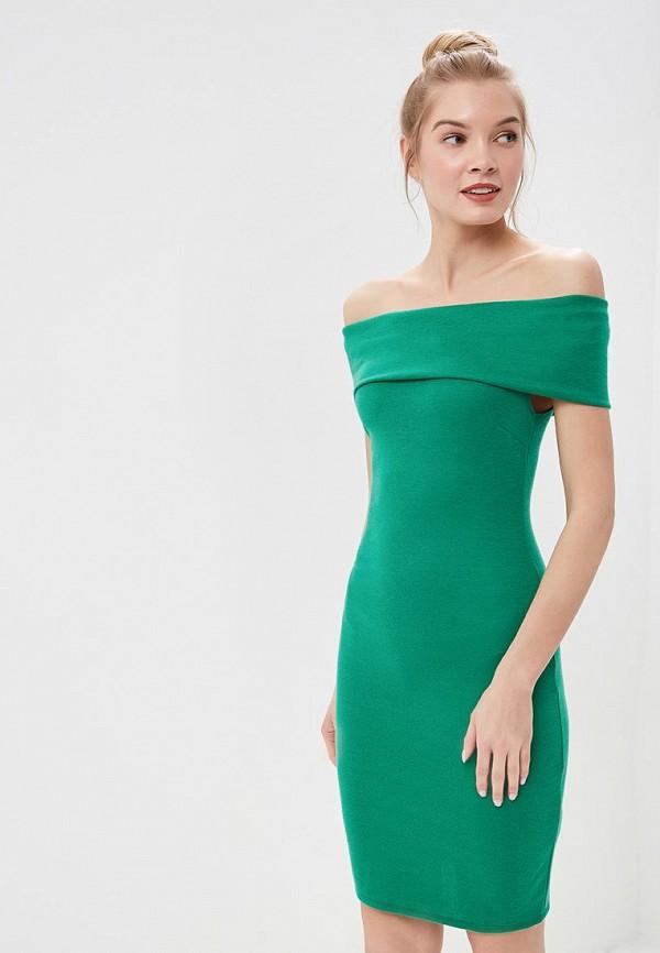 женское платье city goddess, зеленое