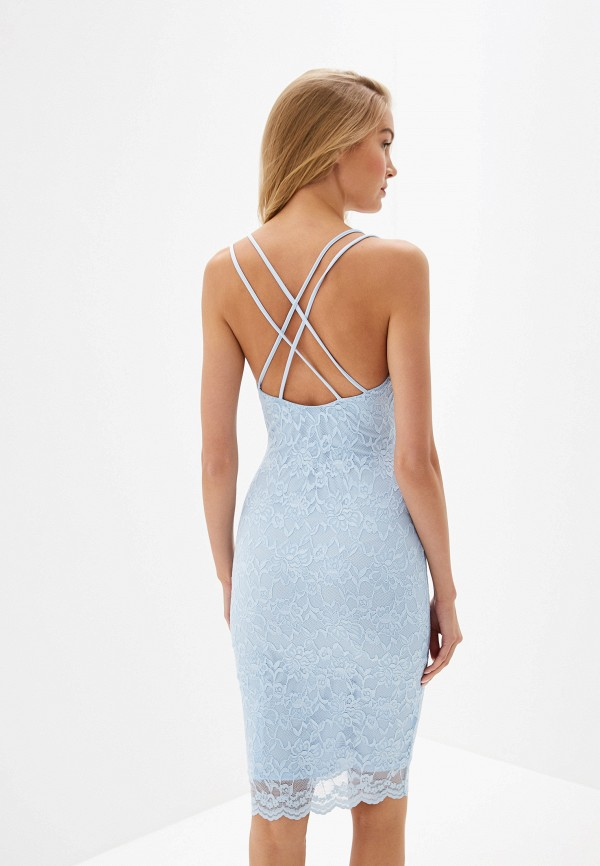 Фото 3 - женское вечернее платье City Goddess голубого цвета