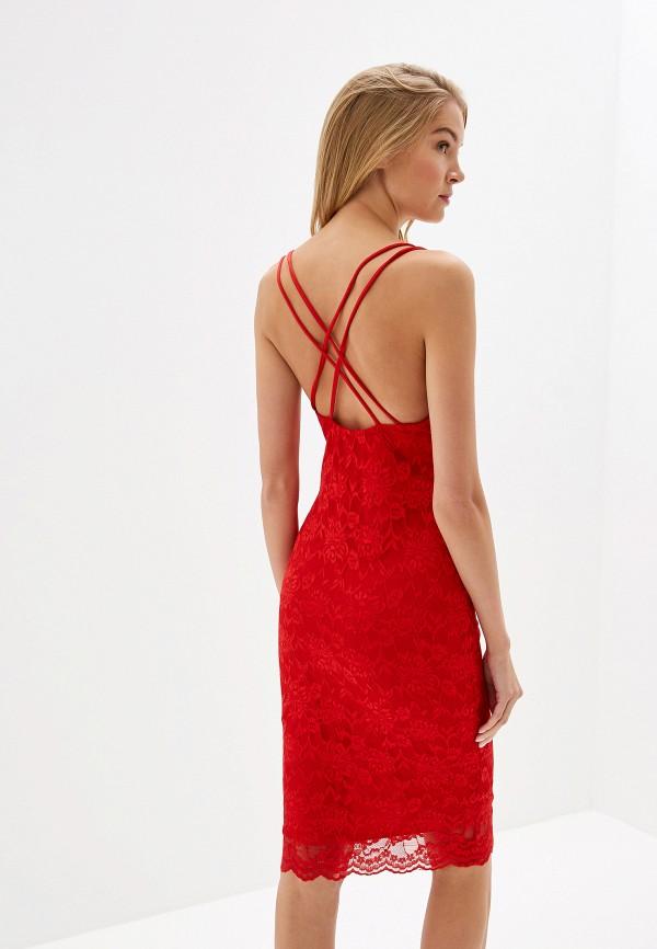 Фото 3 - женское вечернее платье City Goddess красного цвета