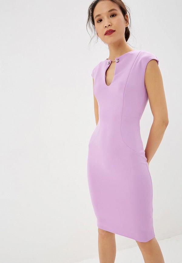женское повседневные платье city goddess, фиолетовое
