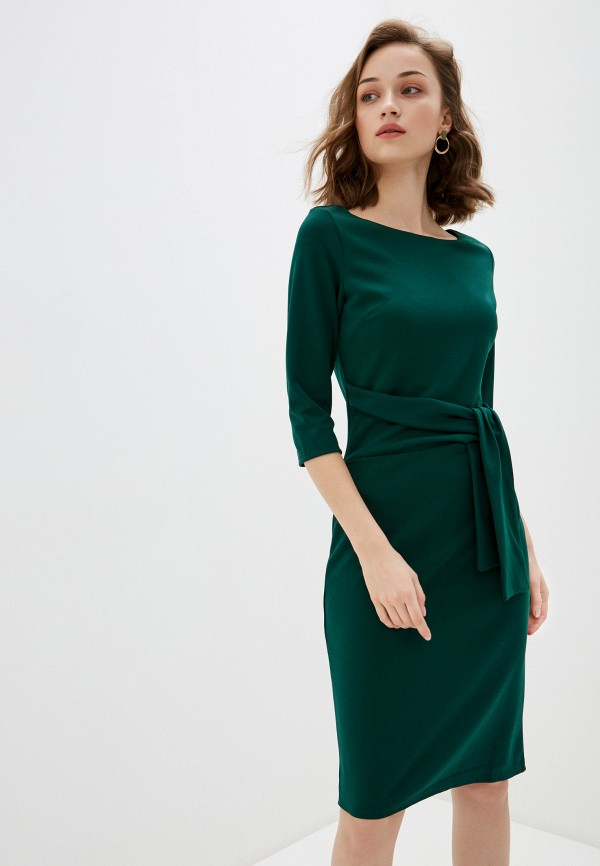 женское повседневные платье city goddess, зеленое