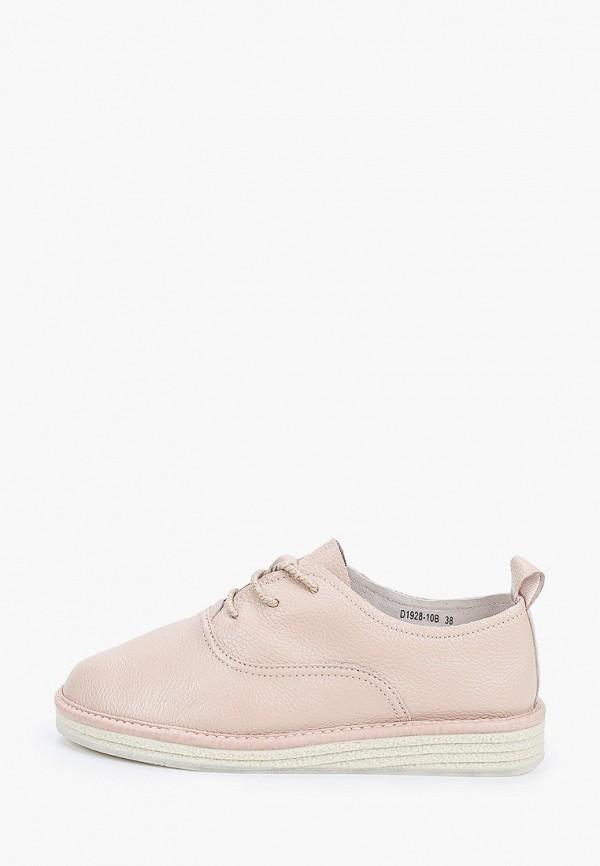 женские ботинки city sign, розовые