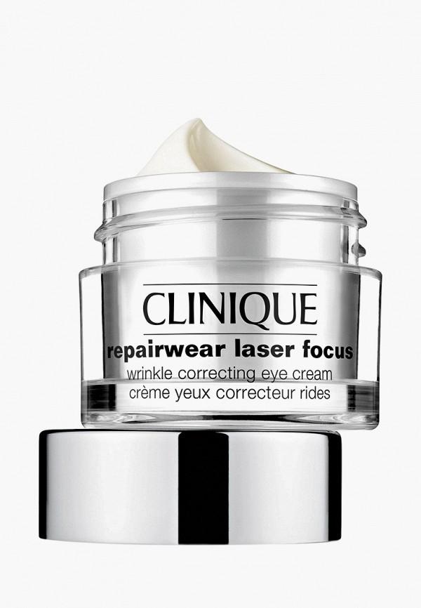 Крем для кожи вокруг глаз Clinique для борьбы с морщинами Repairwear Laser Focus Wrincle Correcting Eye Cream