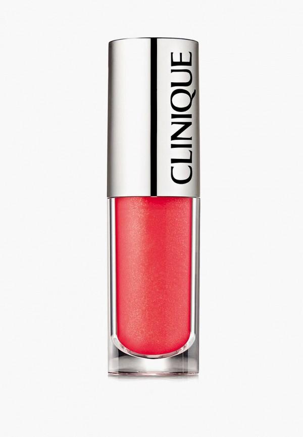 женский блеск для губ clinique, розовый