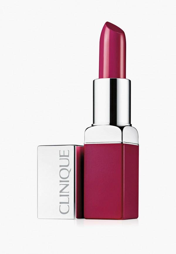 женская помада clinique, розовая