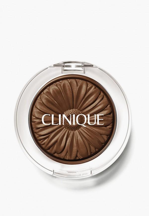 женский тени для век clinique, коричневый