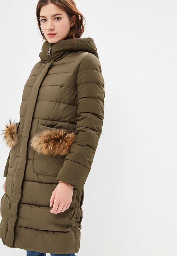 Куртка утепленная Clasna Clasna CL016EWDIAK8 куртка утепленная clasna clasna cl016ewyfc93