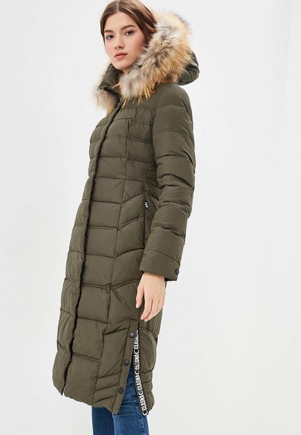 Куртка утепленная Clasna Clasna CL016EWDIAP7 зимняя куртка clasna зимняя куртка