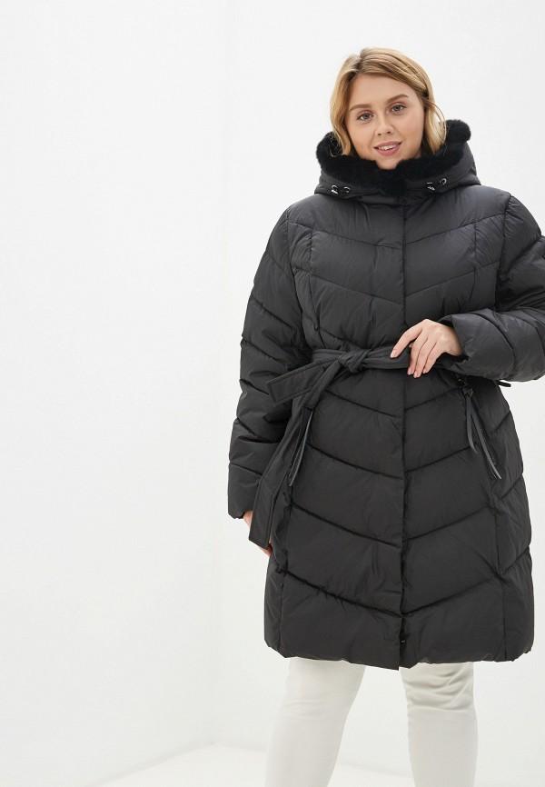 женская куртка clasna, черная