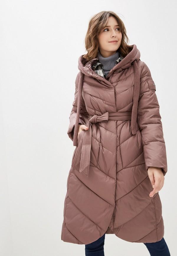 женская куртка clasna, розовая