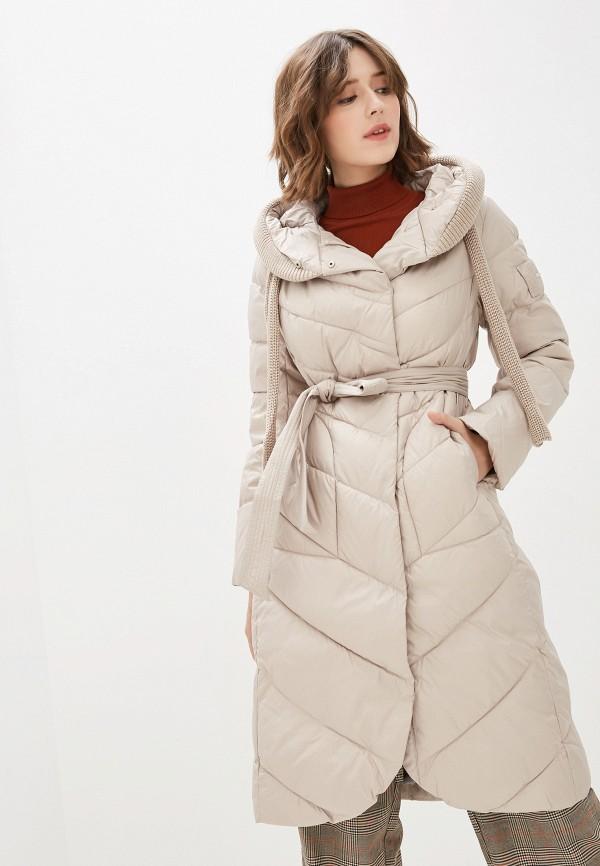 женская куртка clasna, бежевая