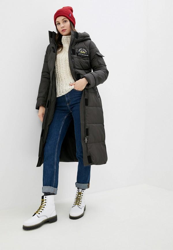 Куртка утепленная Clasna Clasna CL016EWGTCA8 цена