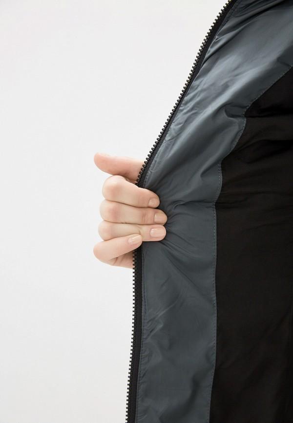 Фото 4 - Куртку утепленная Clasna зеленого цвета