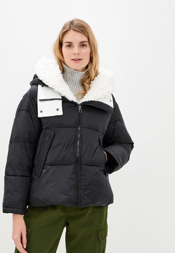 Куртка утепленная Clasna Clasna CL016EWGTCL3 пуховик clasna clasna cl016ewyfd17