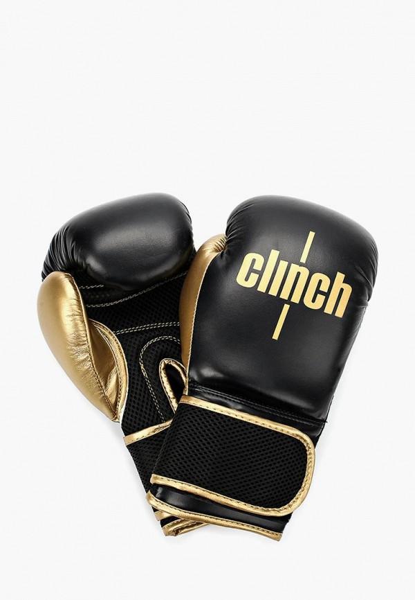 женские перчатки clinch, черные