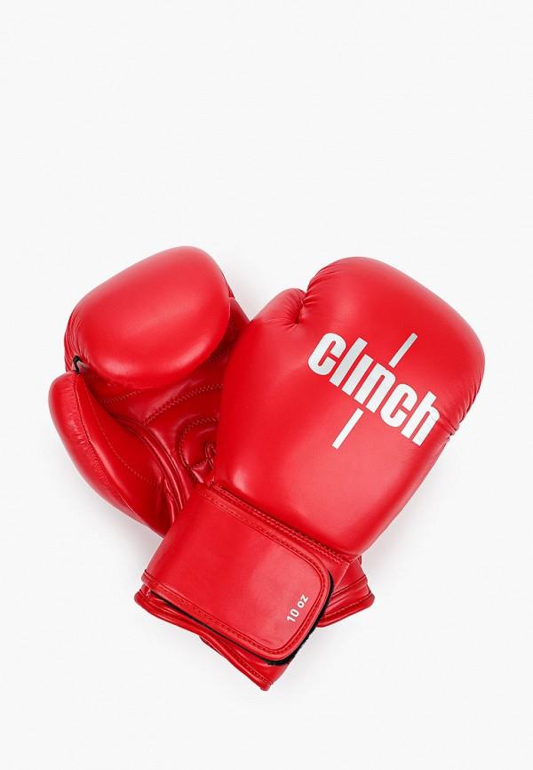 женские перчатки clinch, красные