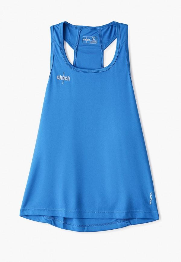 Майка спортивная Clinch Clinch CL018EUFORZ8 шлем боксерский clinch olimp цвет синий размер s 50 54 см