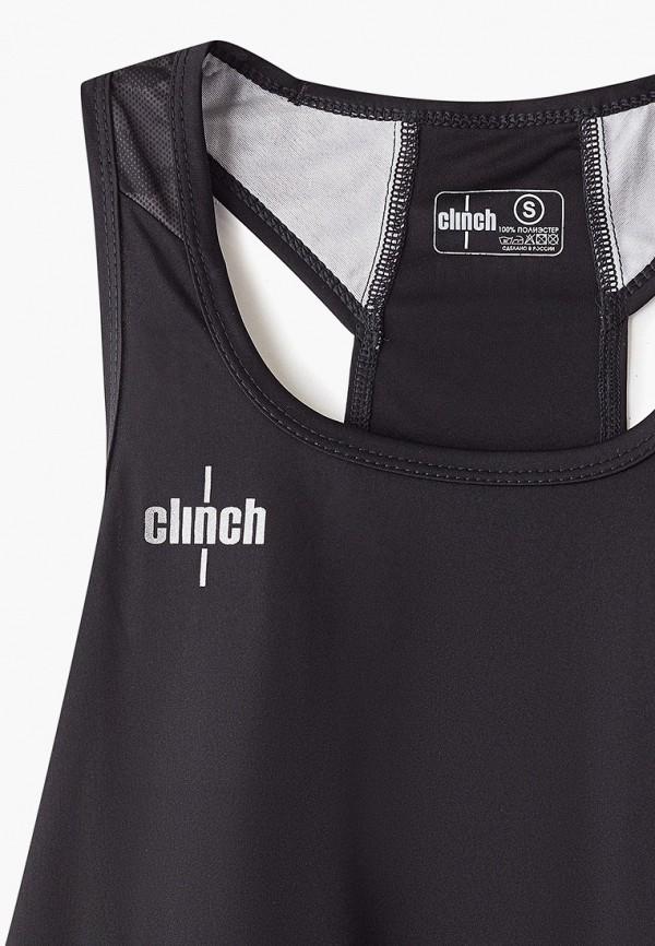 Фото 3 - Майку спортивная Clinch черного цвета