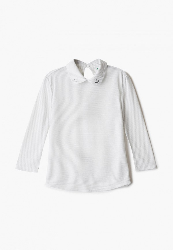 блузка cleverly для девочки, белая